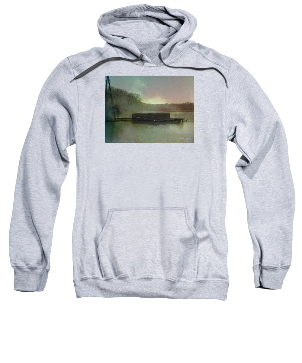 Wright Sweatshirt featuring the photograph Abandoned by Paulette B Wright