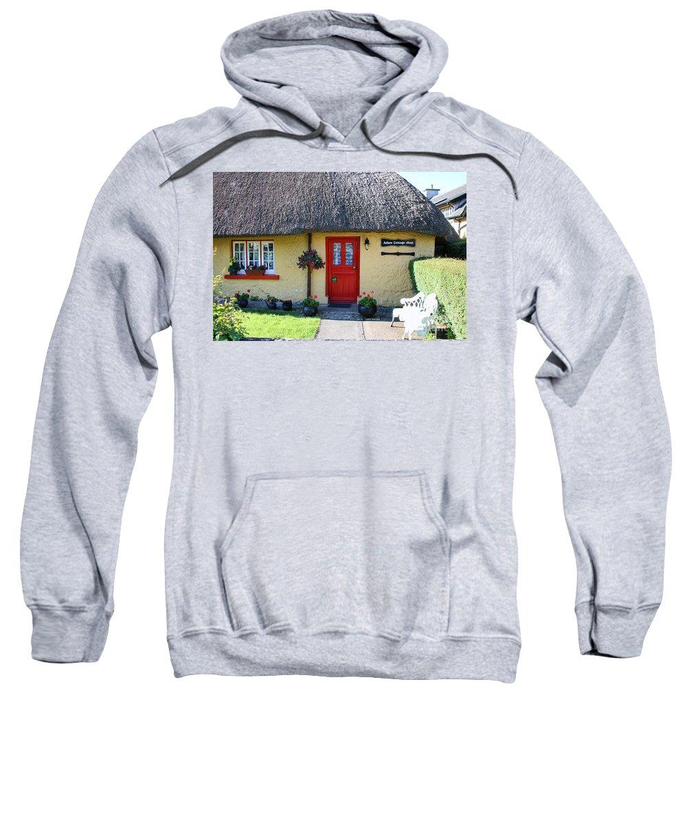 Adare Ireland Sweatshirt featuring the photograph Adare Ireland 7289 by Jack Schultz