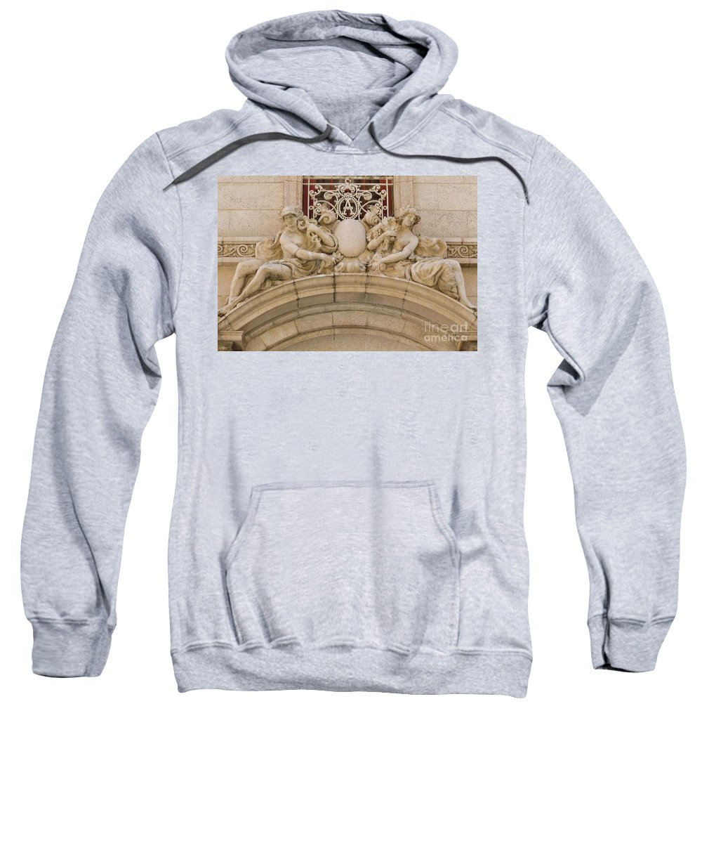 Architecture Sweatshirt featuring the photograph Adolphus Hotel - Dallas #5 by Robert ONeil