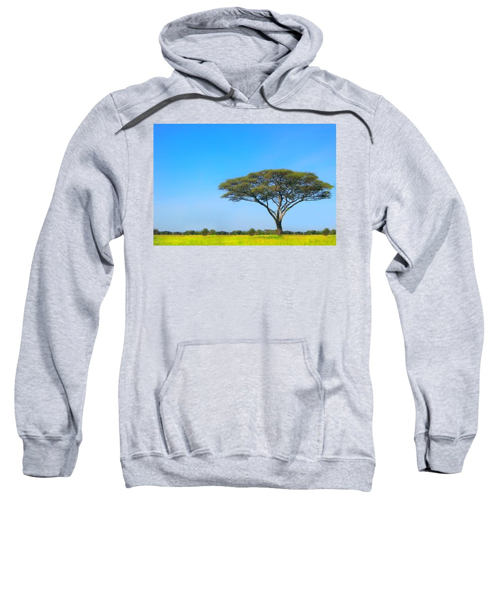 Africa Sweatshirt featuring the photograph Africa by Sebastian Musial