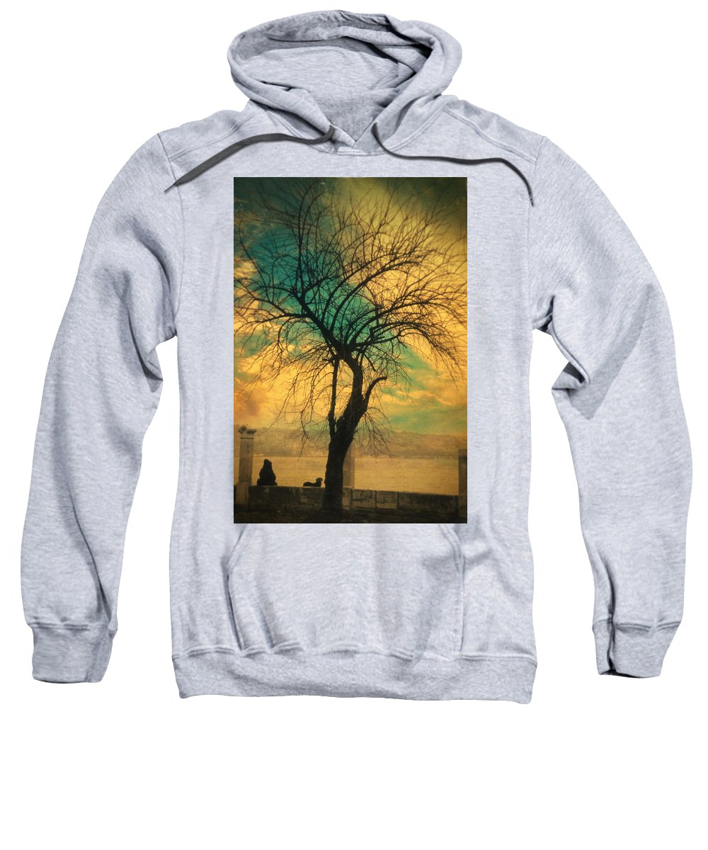 Tree Sweatshirt featuring the photograph Afterthought by Zapista