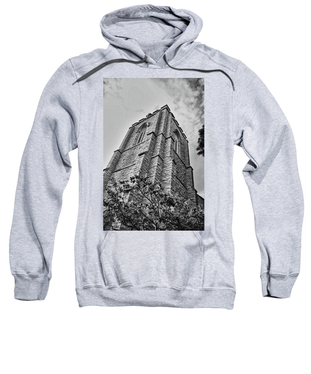 Buildings Sweatshirt featuring the photograph All Saints 8353 by Guy Whiteley