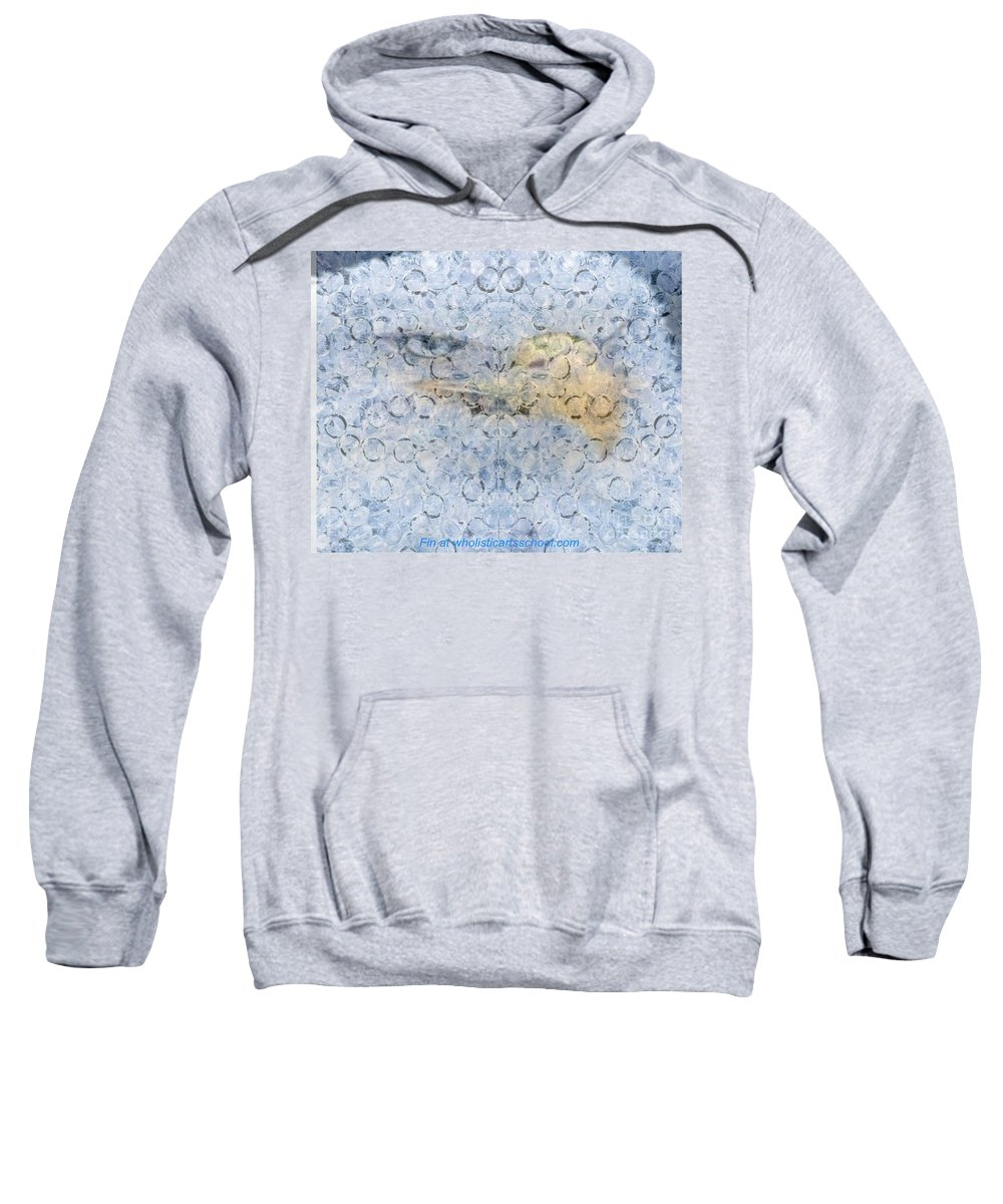American Eagle Art Sweatshirt featuring the painting American Eagle Art by PainterArtist FIN