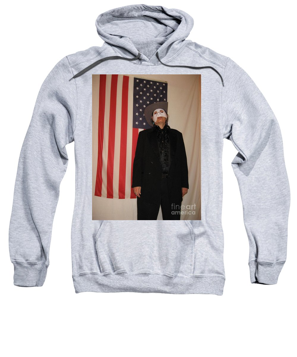 American Sweatshirt featuring the photograph American Ruffles by Frederick Holiday
