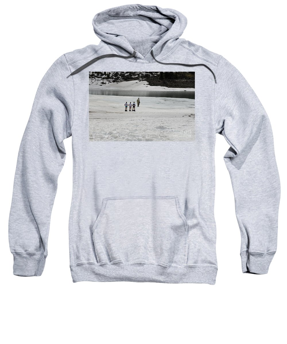 Underwear Sweatshirt featuring the photograph And Then There Is This by David Arment