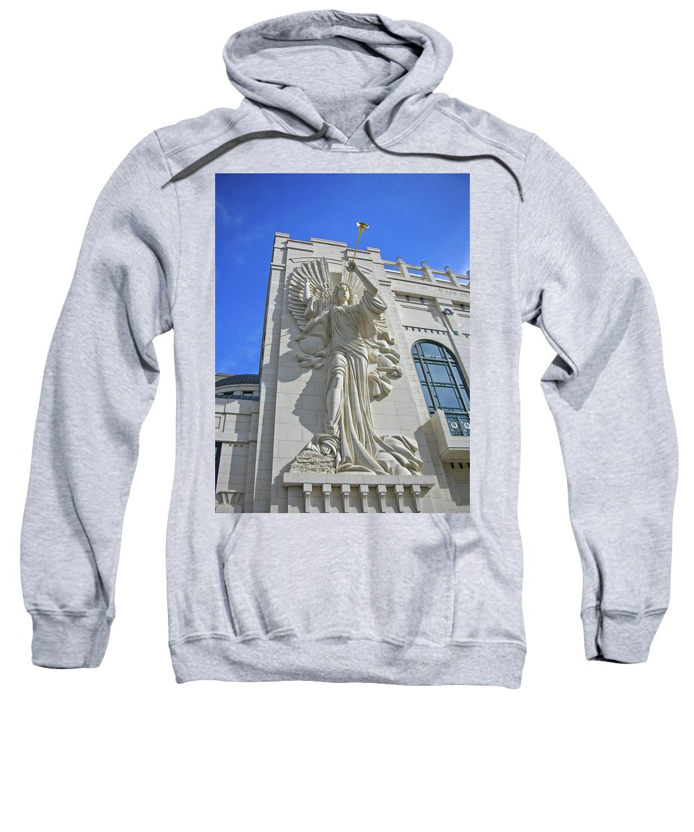 Sculptures Sweatshirt featuring the photograph Angels 2915 by Guy Whiteley
