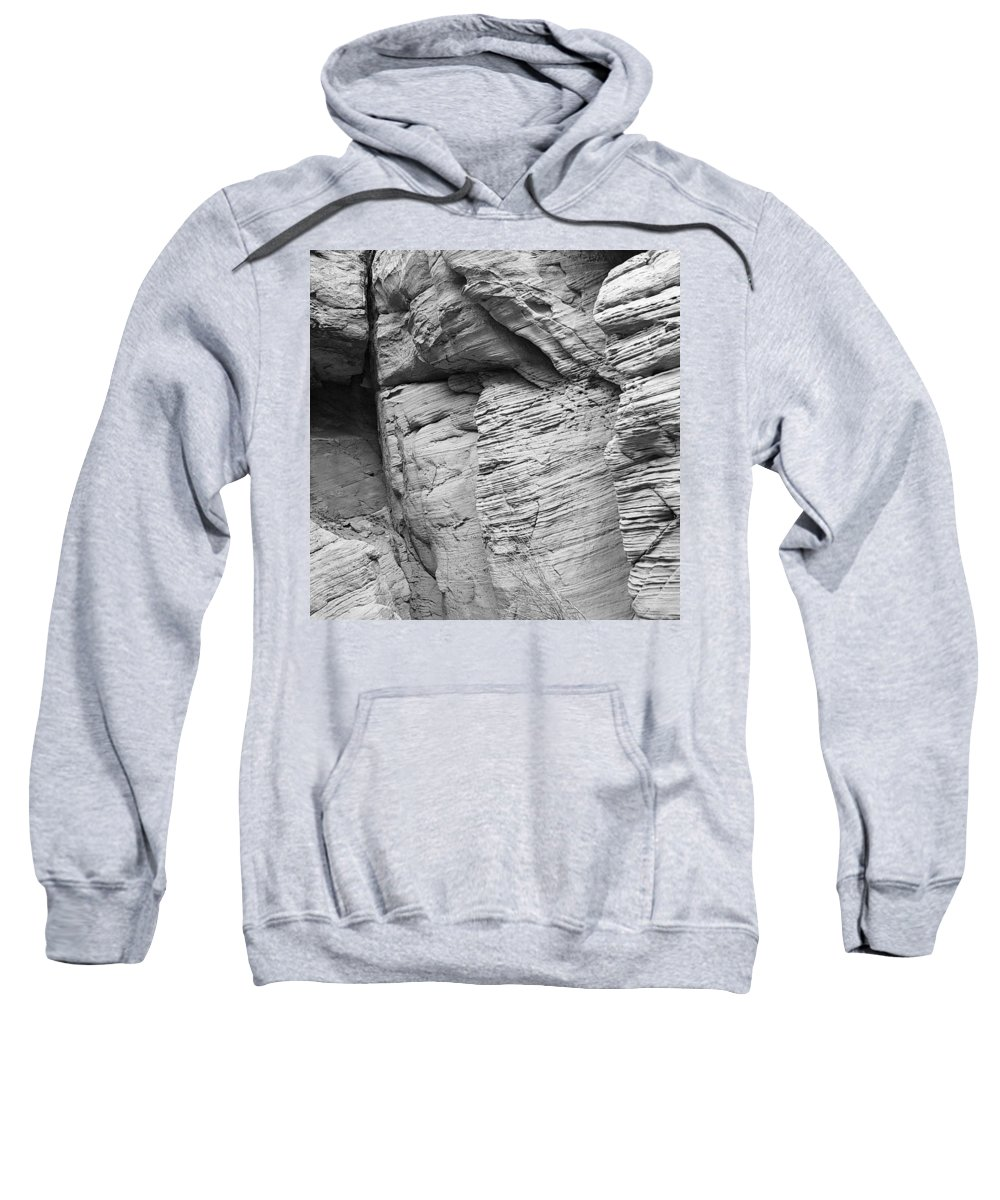 Landscape Sweatshirt featuring the digital art Approach To Tent Rocks by Tim Richards
