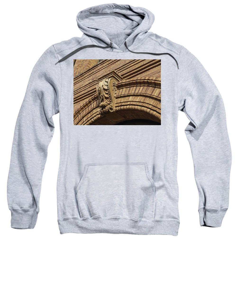 Embellishment Sweatshirt featuring the photograph Arch Key by Eric Swan