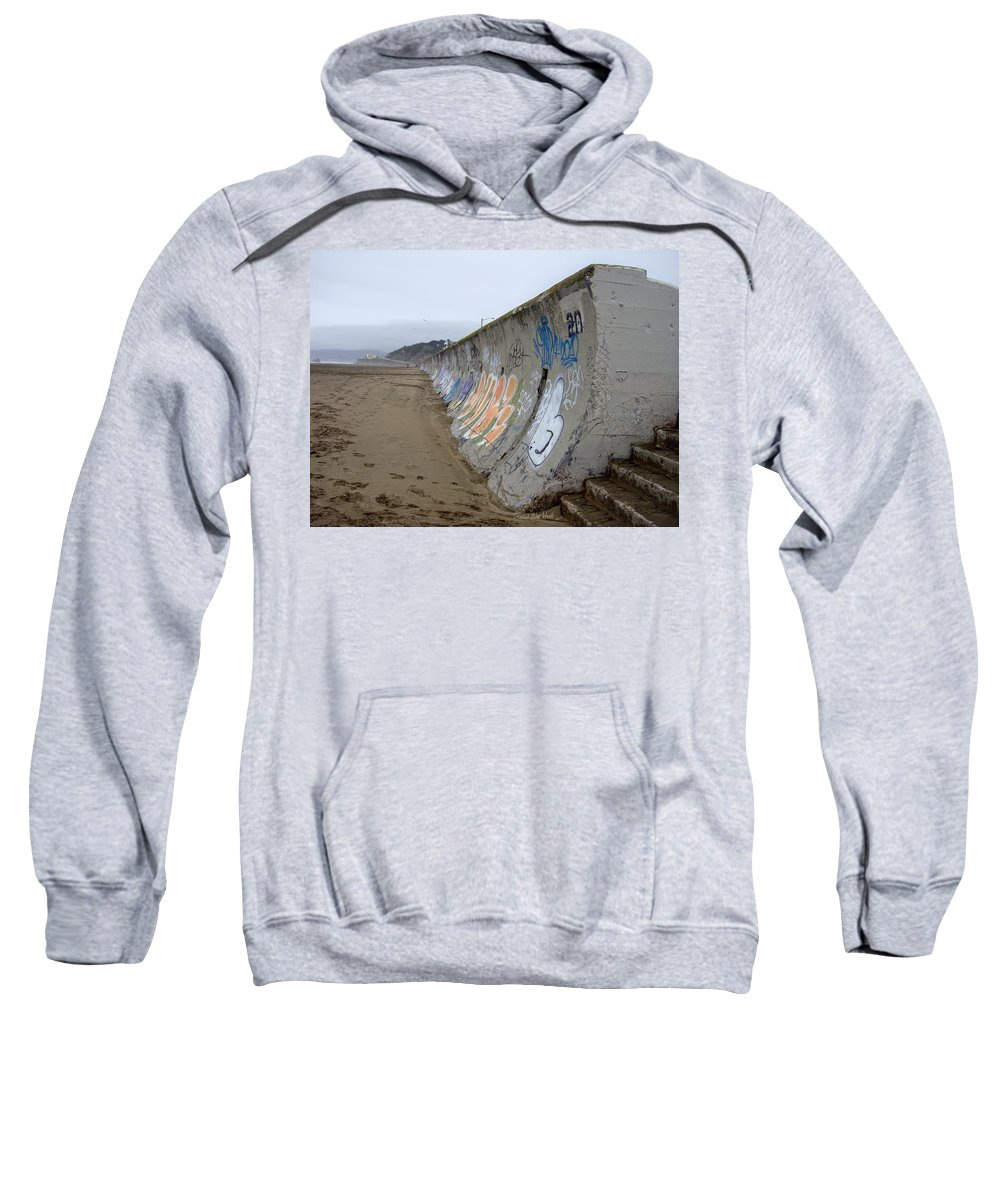 Graffiti Sweatshirt featuring the photograph Archaeological Conundrum by Donna Blackhall