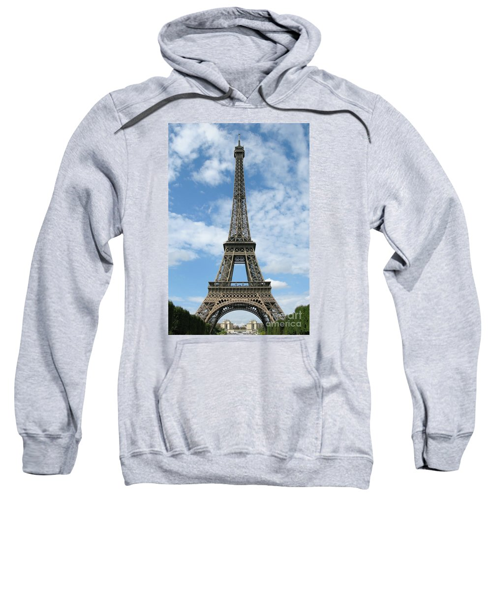 Paris Sweatshirt featuring the photograph Architectural Standout by Ann Horn
