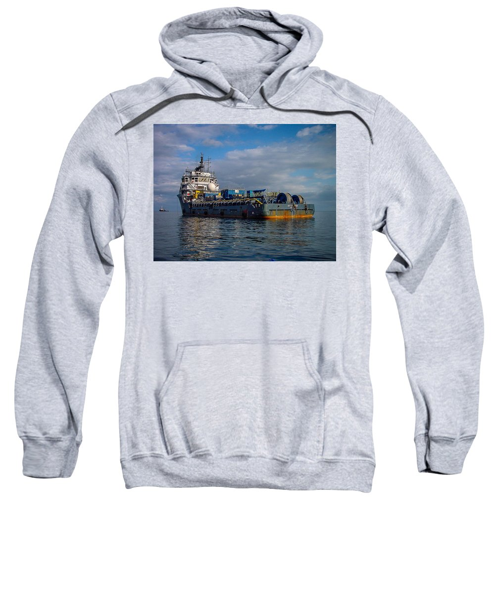 Art Carlson Sweatshirt featuring the photograph Art Carlson by Gregory Daley MPSA