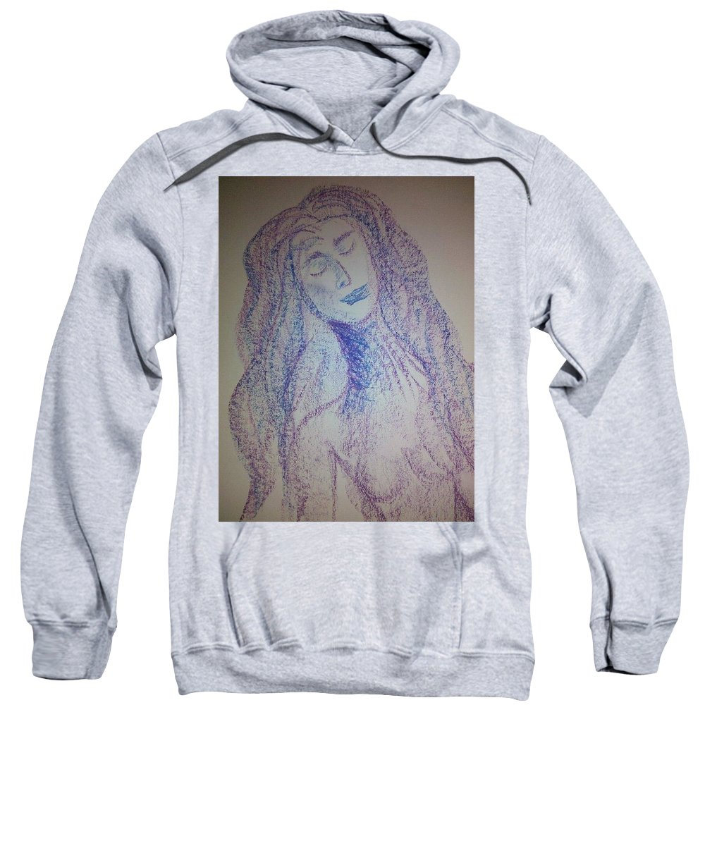 Woman Sweatshirt featuring the photograph Art Therapy 103 by Michele Monk