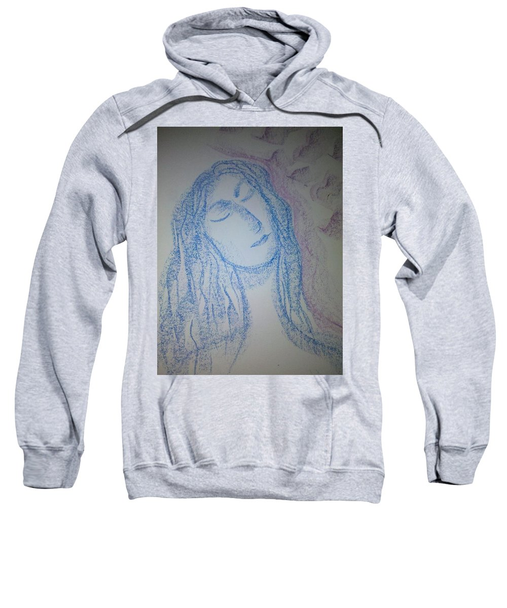 Woman Sweatshirt featuring the photograph Art Therapy 91 by Michele Monk
