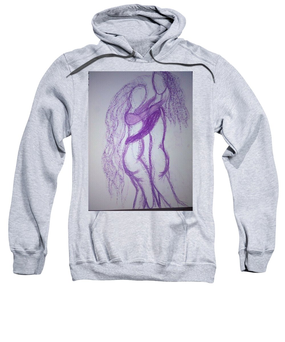 Two Sweatshirt featuring the photograph Art Therapy 97 by Michele Monk