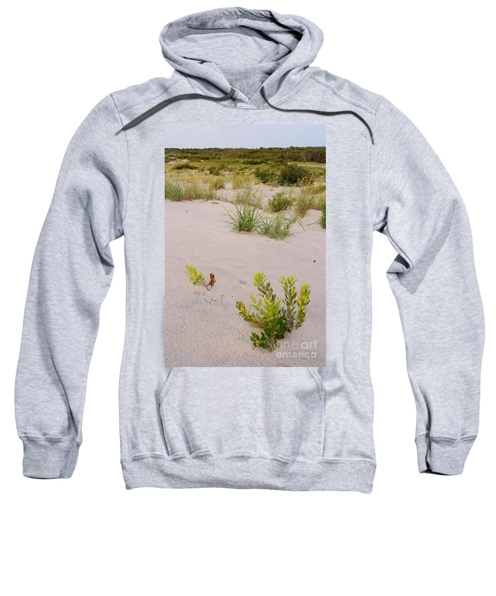 Assateague Sweatshirt featuring the photograph Assateague Dunes 2 by Benjamin Reed