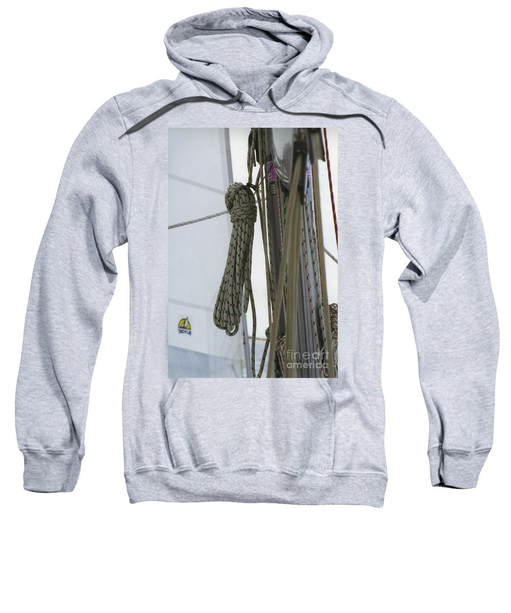Sail Sweatshirt featuring the photograph At Sail by William Norton