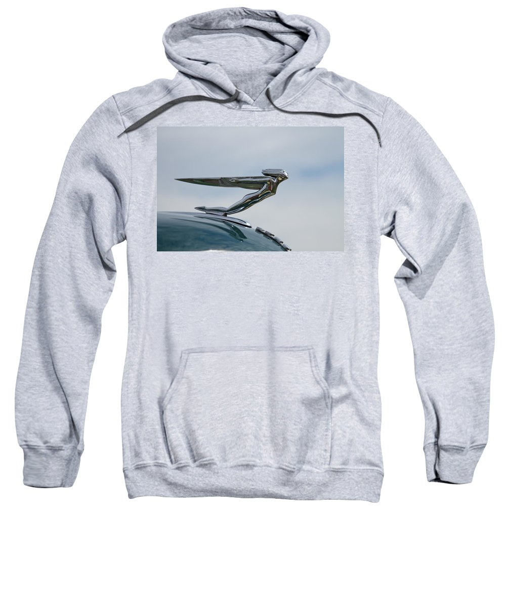 Glenmoor Sweatshirt featuring the photograph Auburn 1935-36 Goddess by Jack R Perry