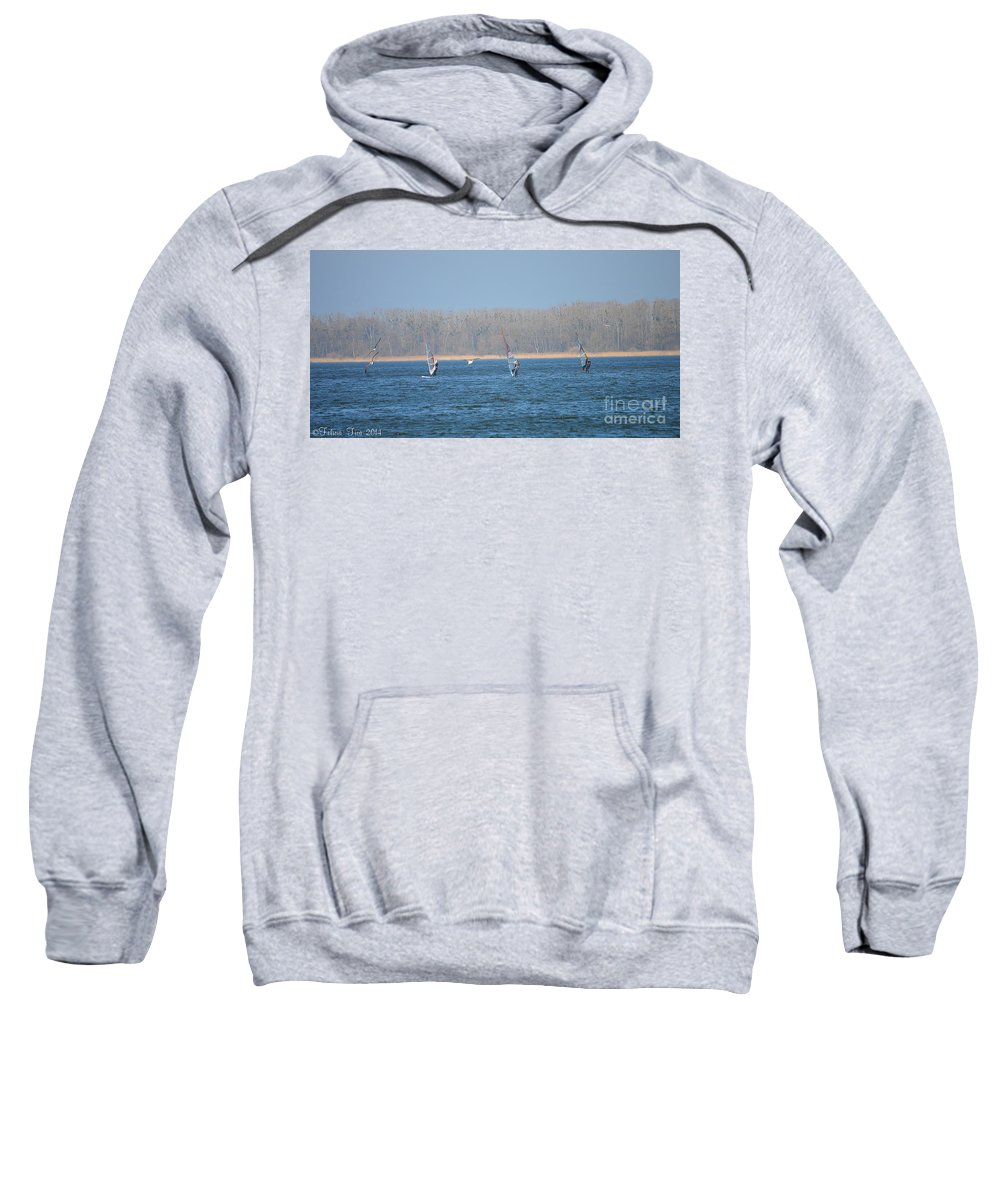 Wind Sweatshirt featuring the photograph Auspicious Wind by Felicia Tica