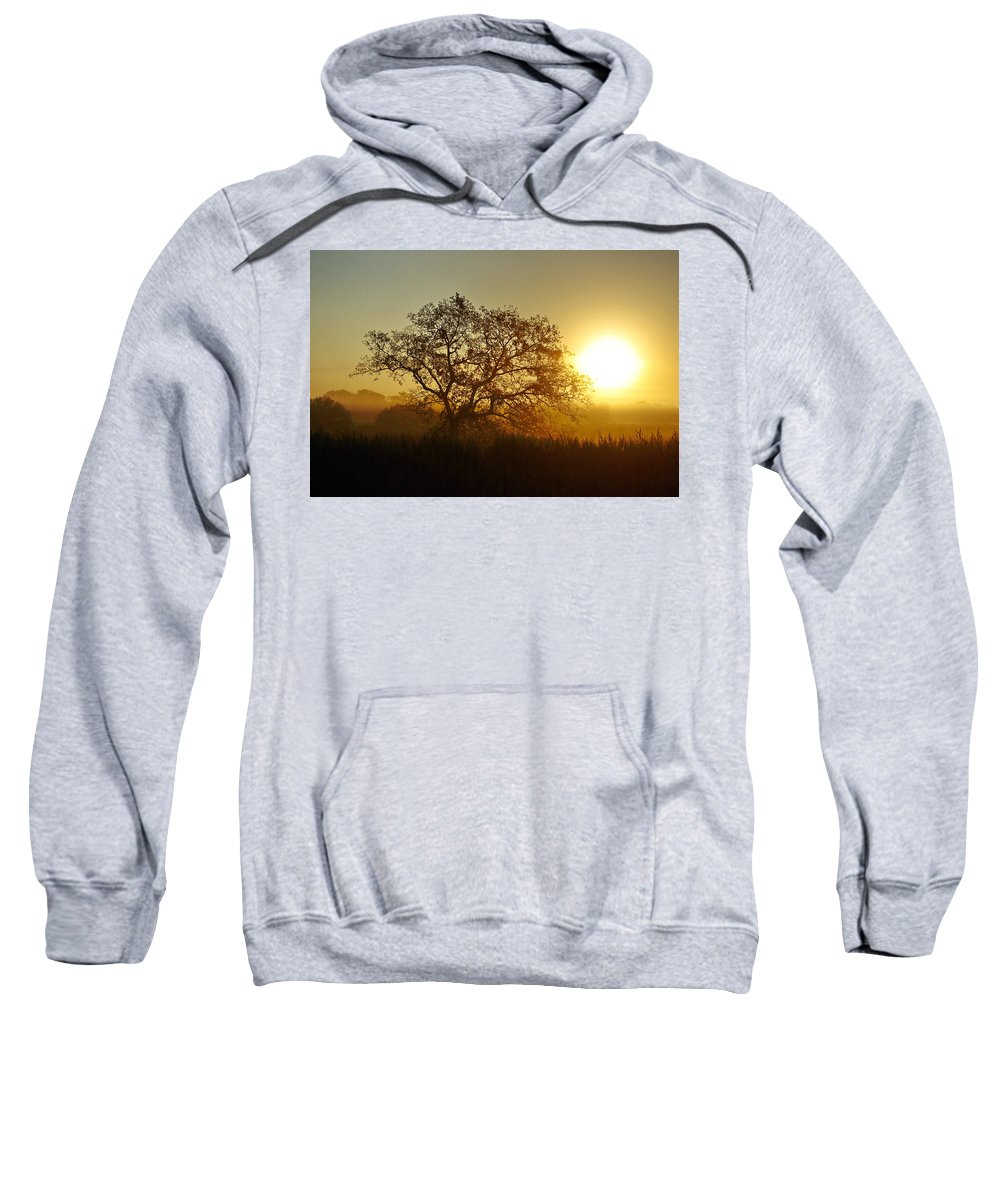 Sunset Sweatshirt featuring the photograph Autumn Sunset by Gary Richards