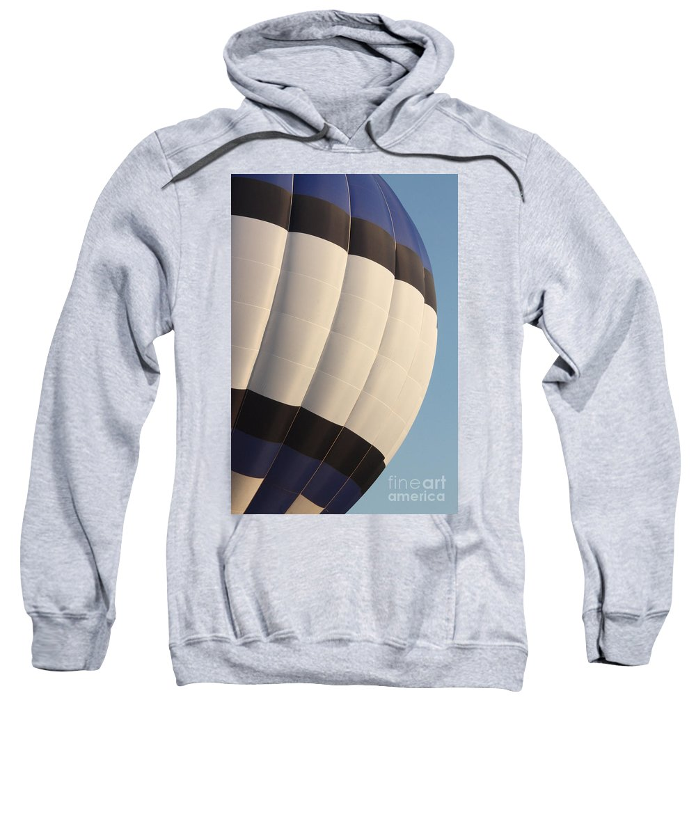 Hot Air Balloon Sweatshirt featuring the photograph Balloon-bwb-7378 by Gary Gingrich Galleries
