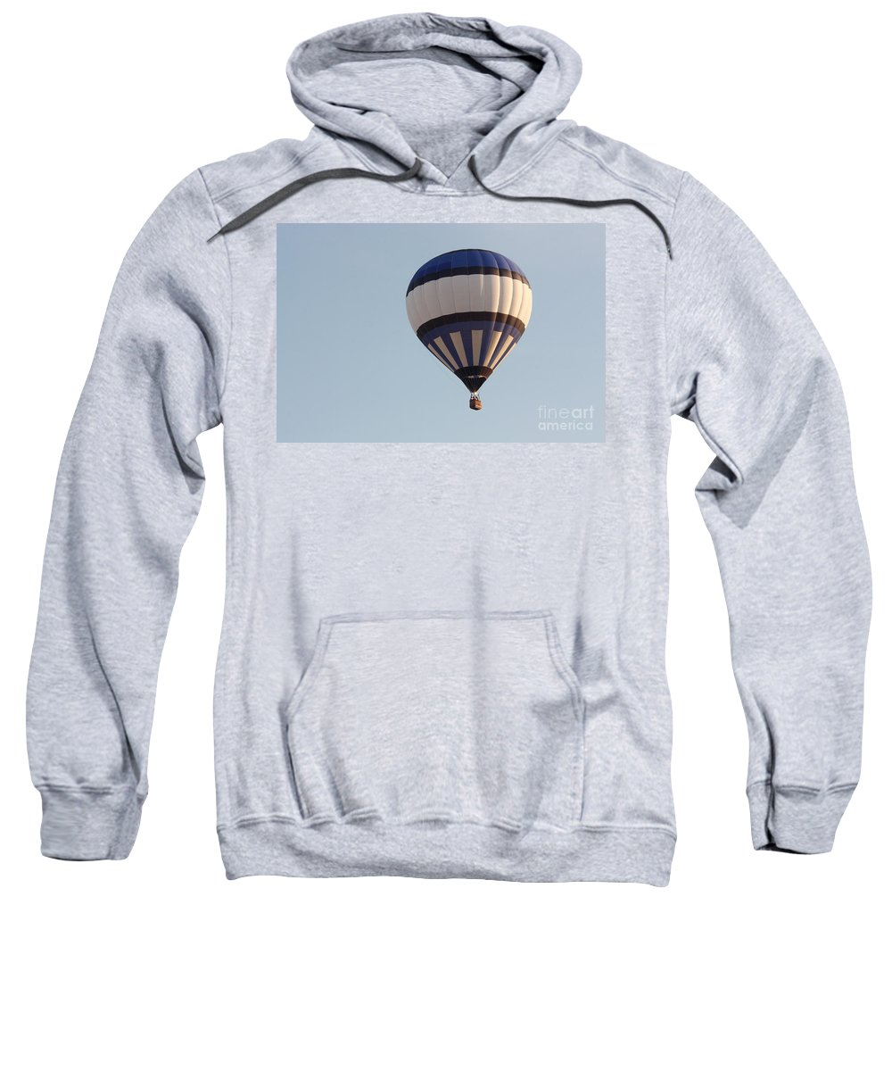 Hot Air Balloon Sweatshirt featuring the photograph Balloon-bwb-7399 by Gary Gingrich Galleries
