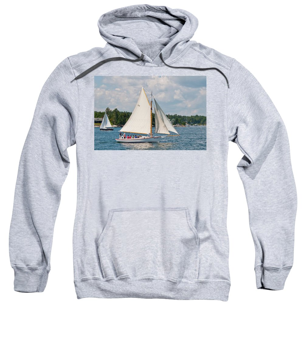 Boat Sweatshirt featuring the photograph Bay Lady 1270 by Guy Whiteley