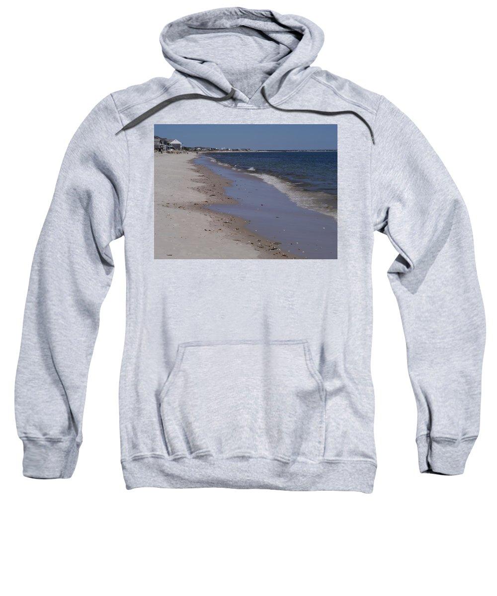 Beach Sweatshirt featuring the photograph Beach Day II by Tina Baxter