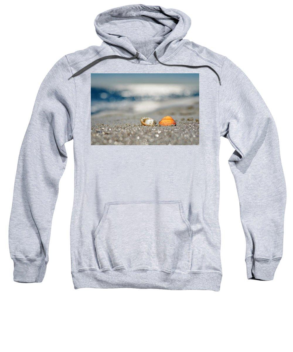 Beach Sweatshirt featuring the photograph Beach Lovers by Laura Fasulo