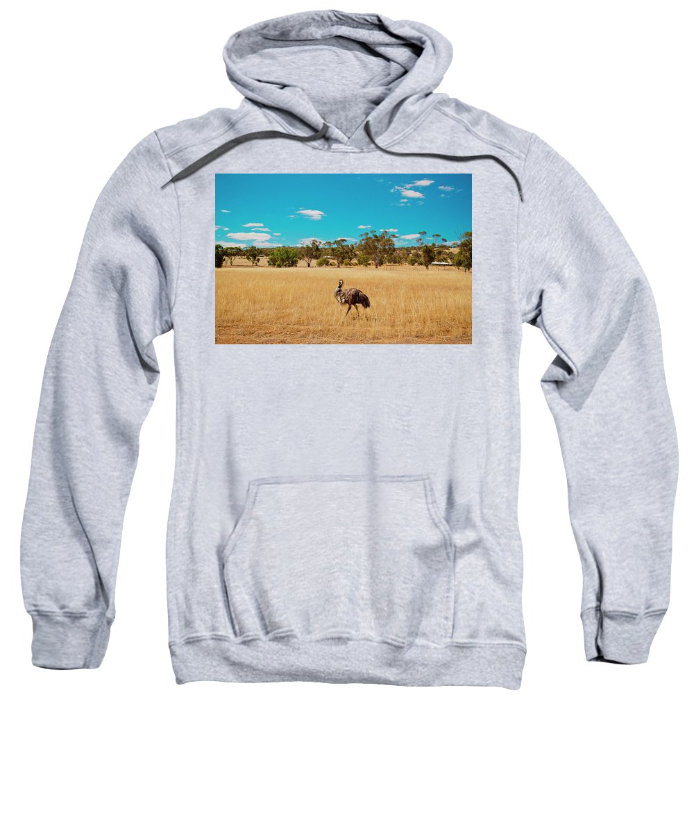 Australia Sweatshirt featuring the photograph Beach Volleyball by Christopher Kimmel