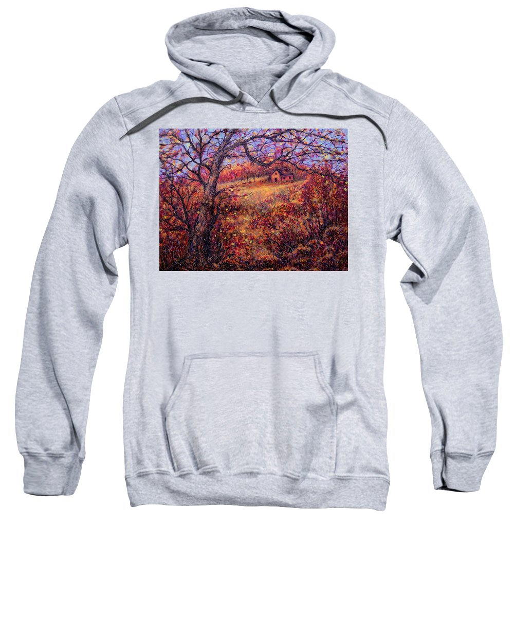 Autumn Sweatshirt featuring the painting Beautiful Autumn by Natalie Holland