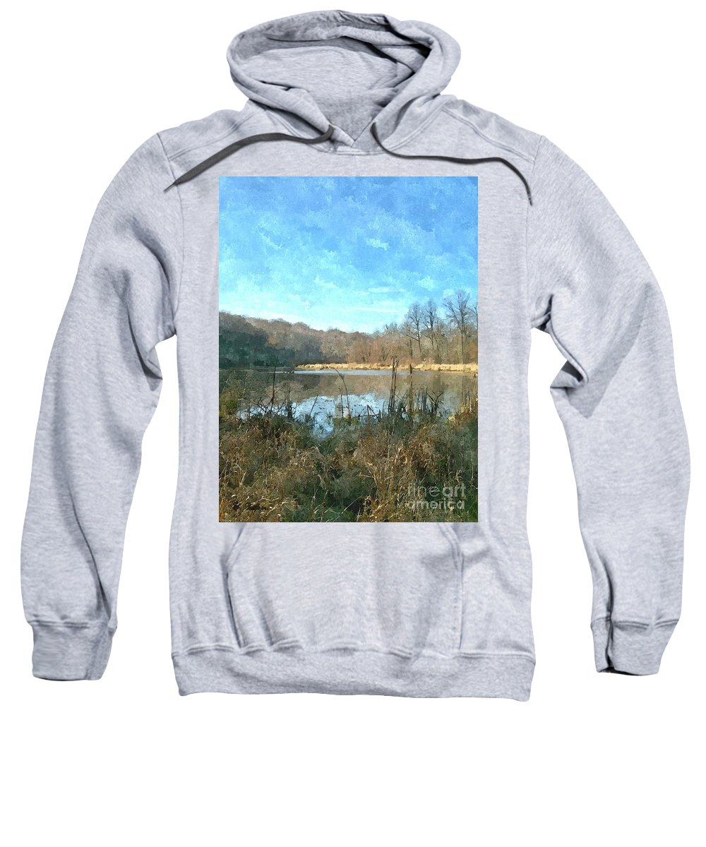 Lake Sweatshirt featuring the photograph Beautiful Day 2 by Sara Raber