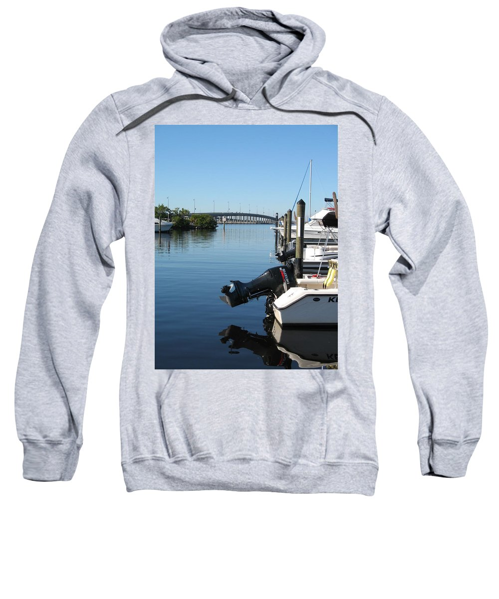 Water Sweatshirt featuring the photograph Beautiful Day by Christiane Schulze Art And Photography