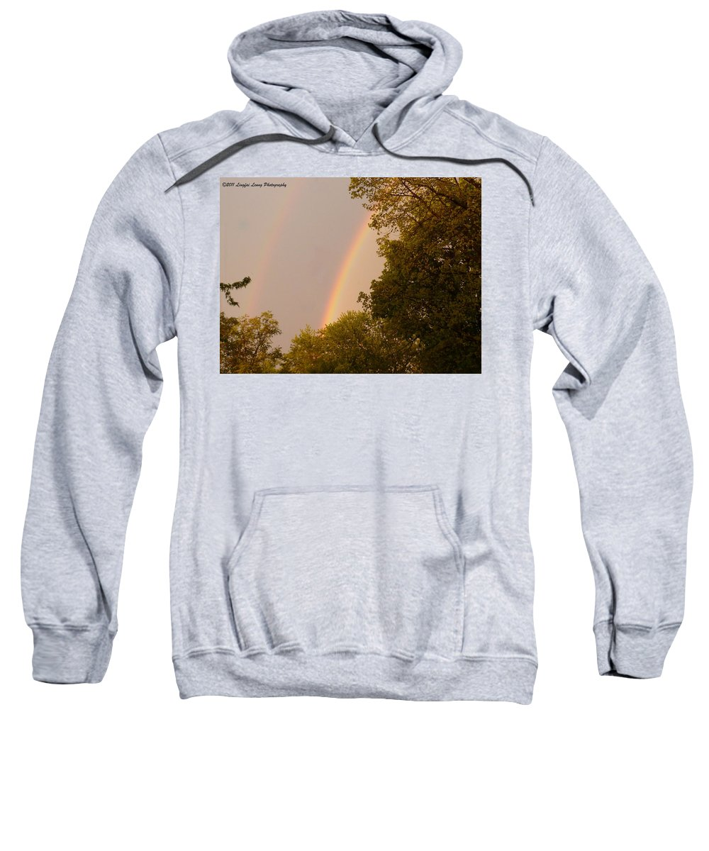 Climate Photograph Sweatshirt featuring the photograph Beauty After The Storm by Lingfai Leung