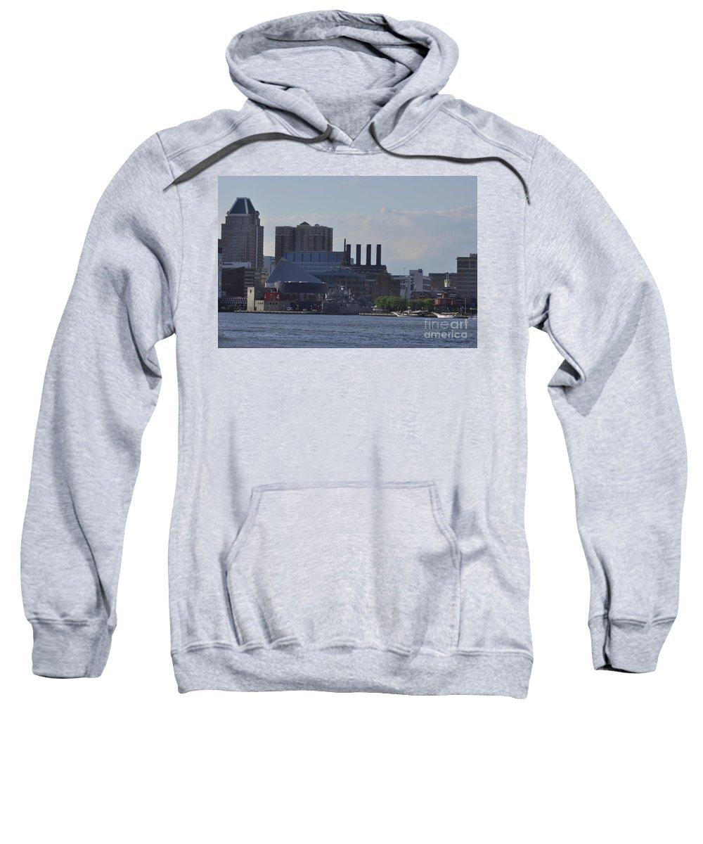 Baltimore Sweatshirt featuring the photograph Beauty Of Baltimore by John J Calhoun