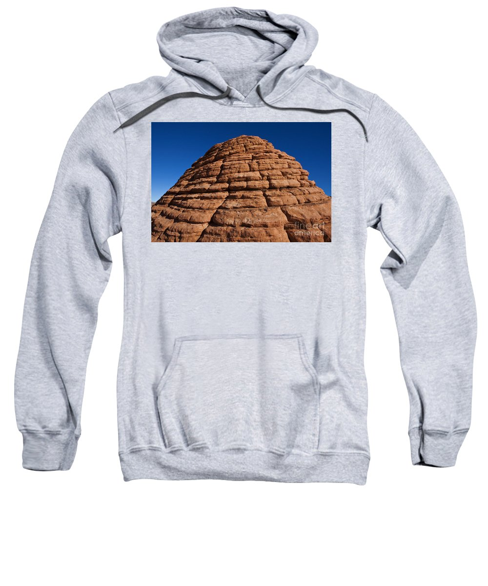 The Beehives Sweatshirt featuring the photograph Beehive Valley Of Fire State Park Nevada by Jason O Watson