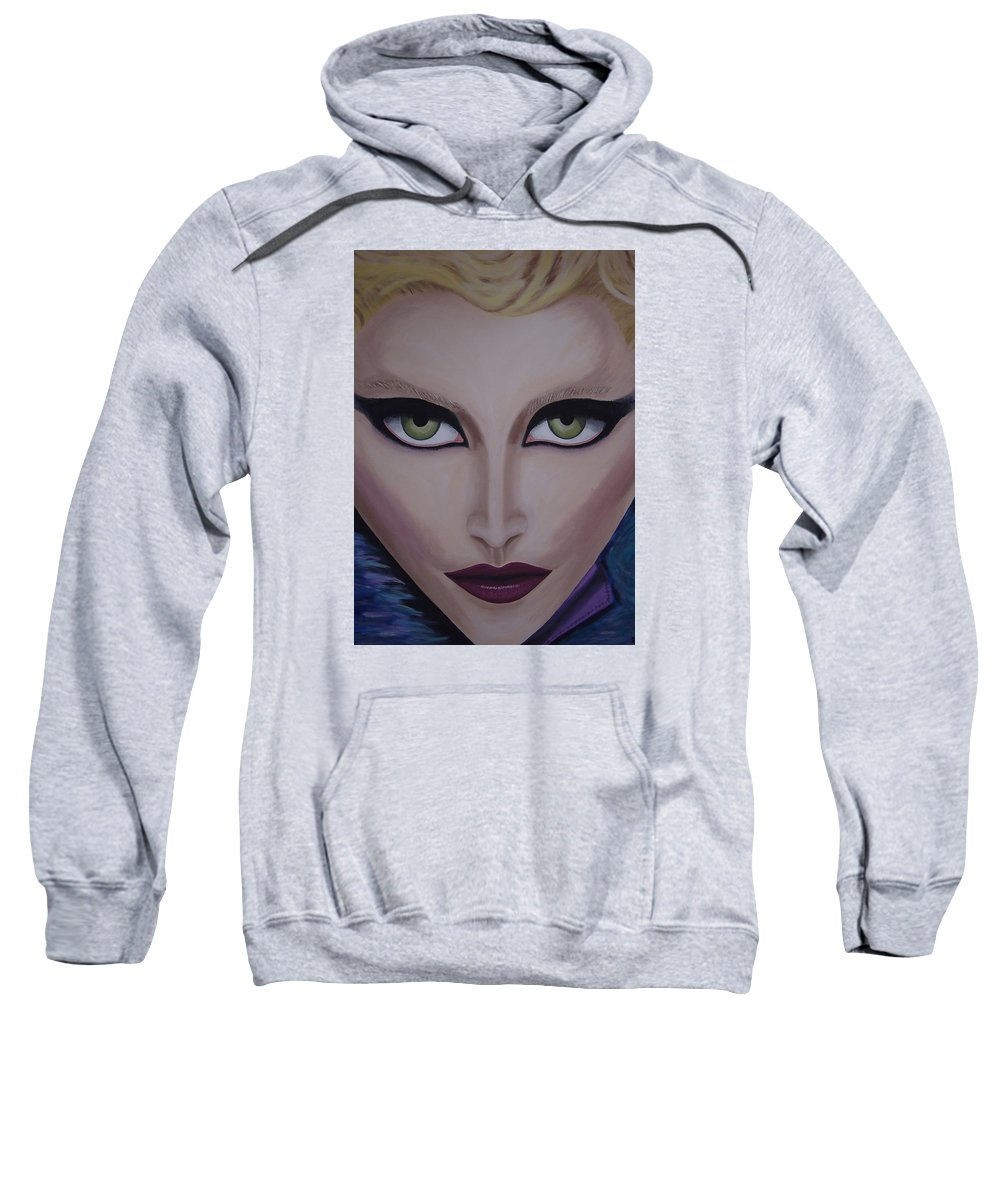 Beautiful Sweatshirt featuring the painting Belle by Dean Stephens