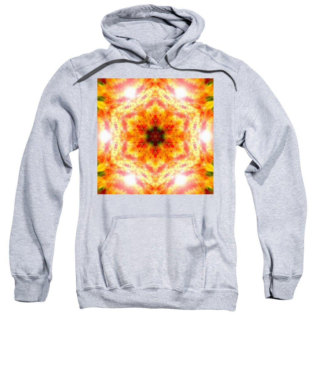 Sacredlife Mandalas Sweatshirt featuring the photograph Bending Light by Derek Gedney
