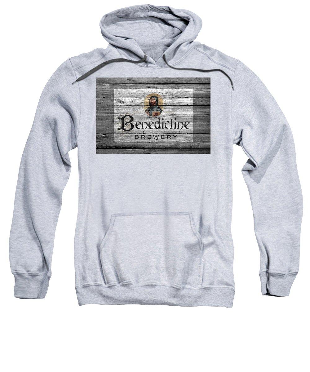 Benedictine Sweatshirt featuring the photograph Benedictine Brewery by Joe Hamilton