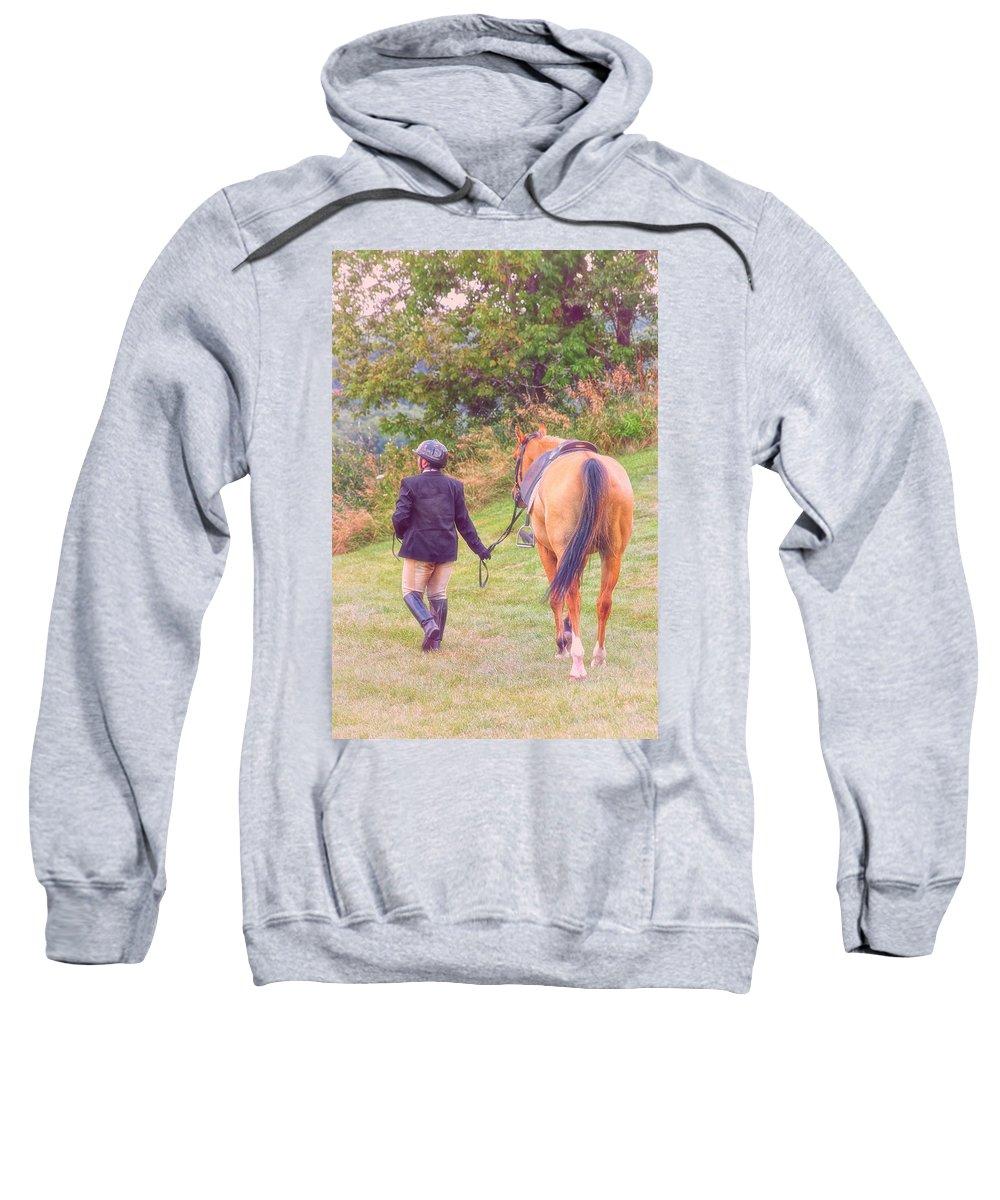 Friends Sweatshirt featuring the photograph Best Friends by Karol Livote