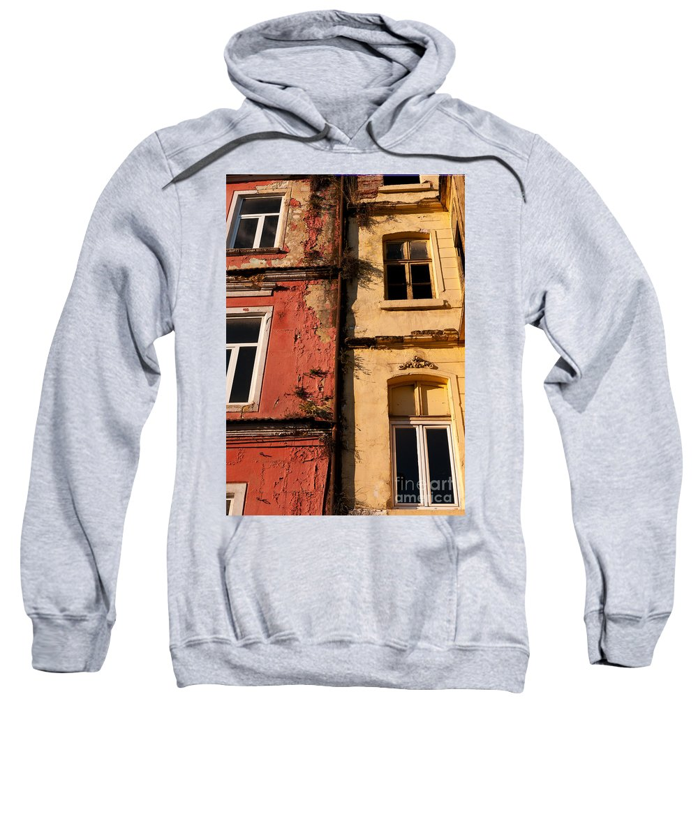 Istanbul Sweatshirt featuring the photograph Beyoglu Old Houses 02 by Rick Piper Photography