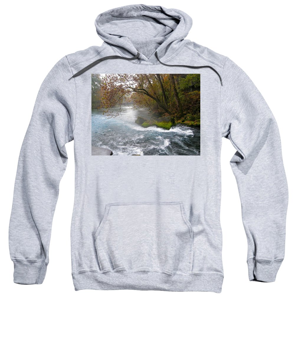 Nature Sweatshirt featuring the photograph Big Spring by Noa Mohlabane