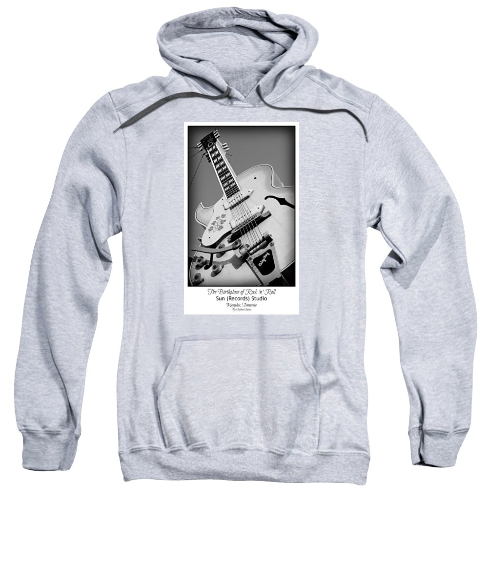 Sun Sweatshirt featuring the photograph Birthplace Of Rock N Roll by Stephen Stookey