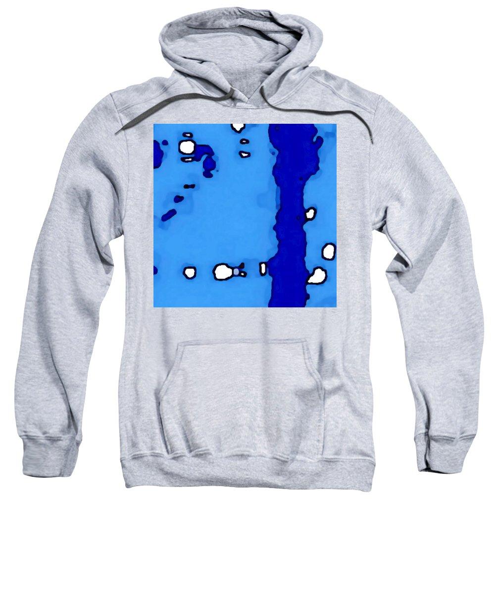 Landscape Sweatshirt featuring the digital art Black Canyon Of The Gunnison by Tim Richards