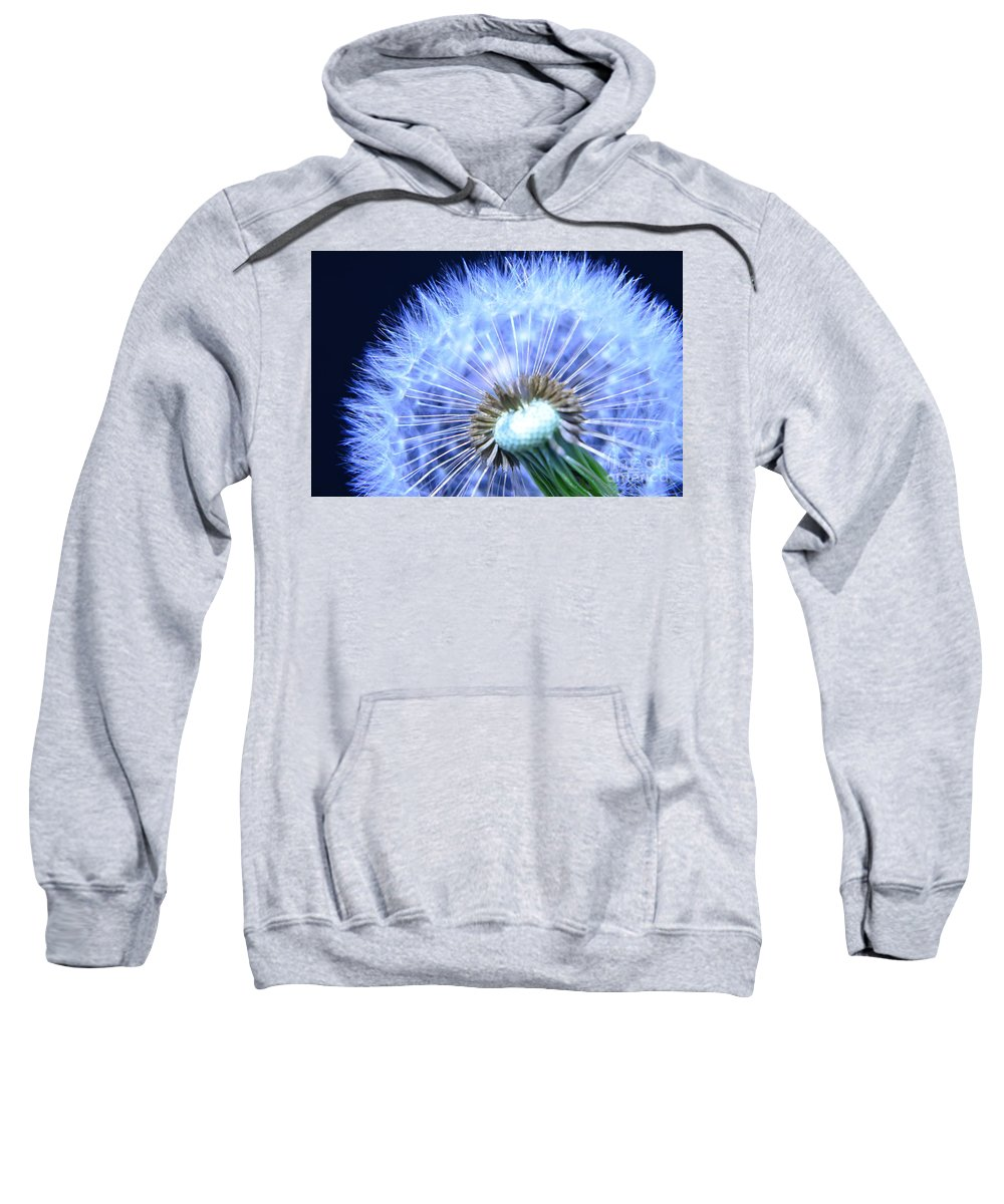 Flower Sweatshirt featuring the photograph Blowing In The Wind by Randy J Heath