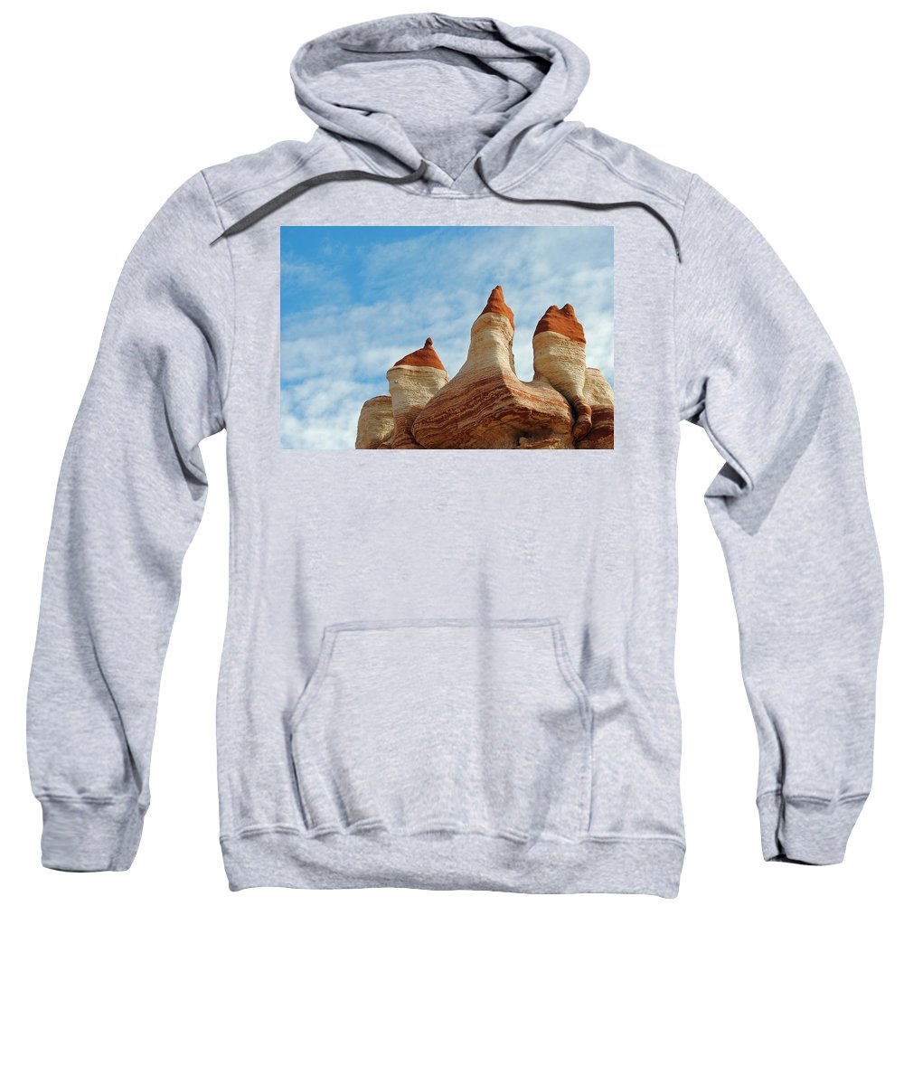 Blue Canyon Arizona Sweatshirt featuring the photograph Blue Canyon 52 by Jeff Brunton