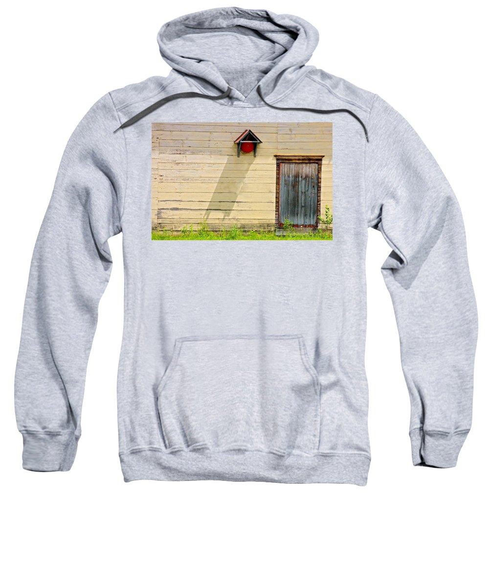 Design Sweatshirt featuring the photograph Blue Door by Marcia Lee Jones