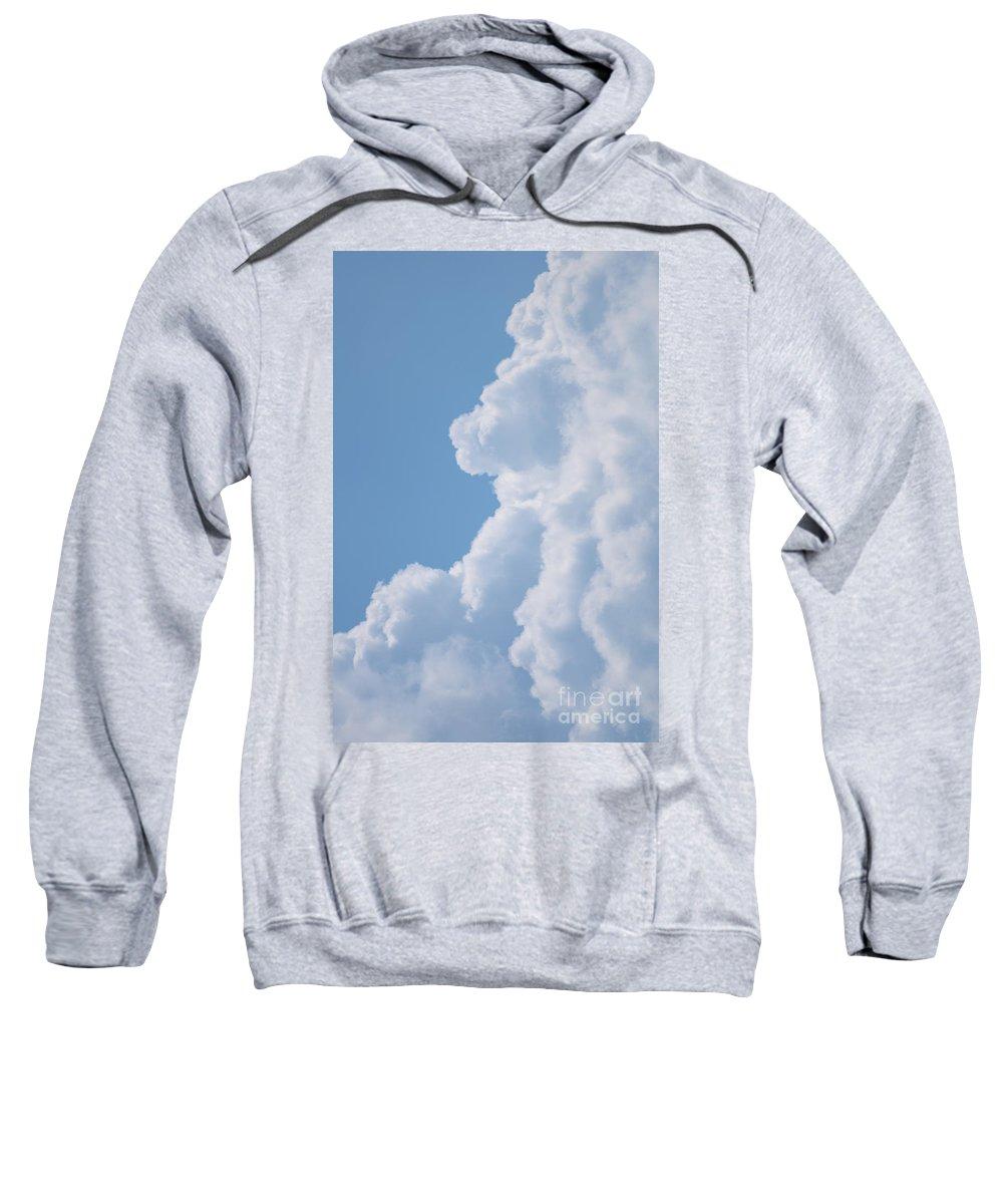 Sweatshirt featuring the photograph Blue Dream by John J Calhoun