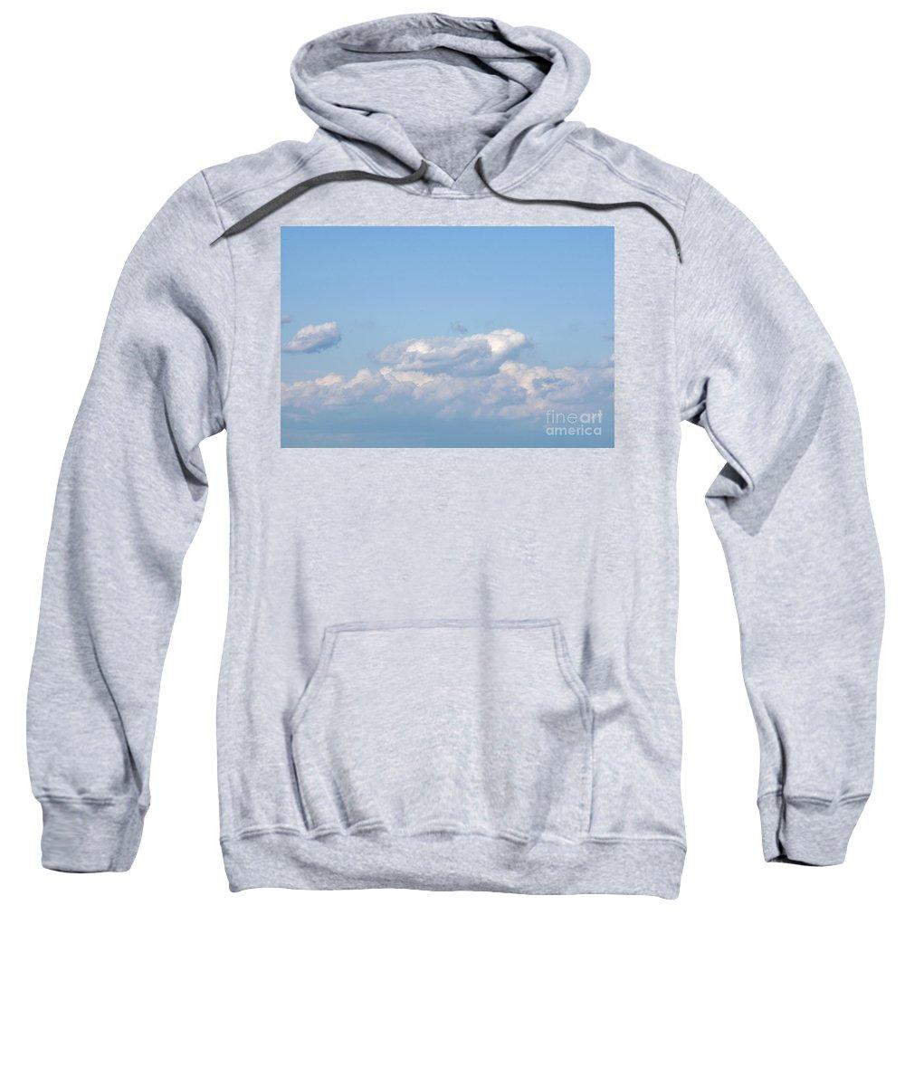 Sweatshirt featuring the photograph Blue Sky by John J Calhoun