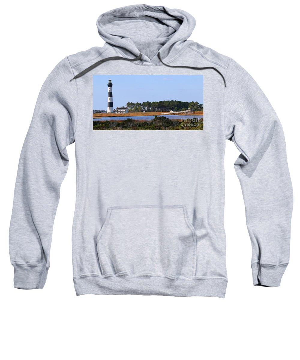 Bodie Island Lighthouse Sweatshirt featuring the photograph Bodie Island Lighthouse 2765 by Jack Schultz