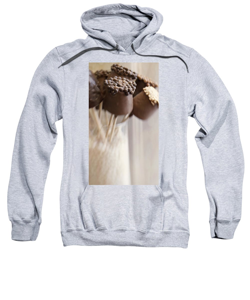 Bonbons Au Chocolat Sweatshirt featuring the photograph Bonbons Au Chocolat by Juli Scalzi